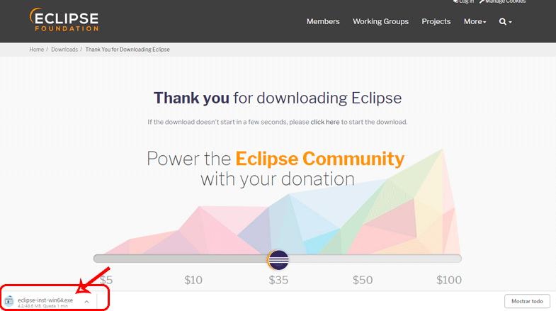 IDE Eclipse Photon