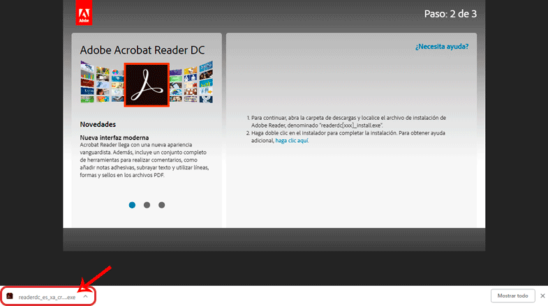 Descargar Adobe Acrobat Reader DC