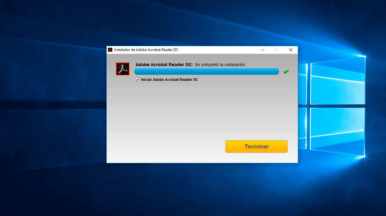 Instalar Adobe Acrobat Reader