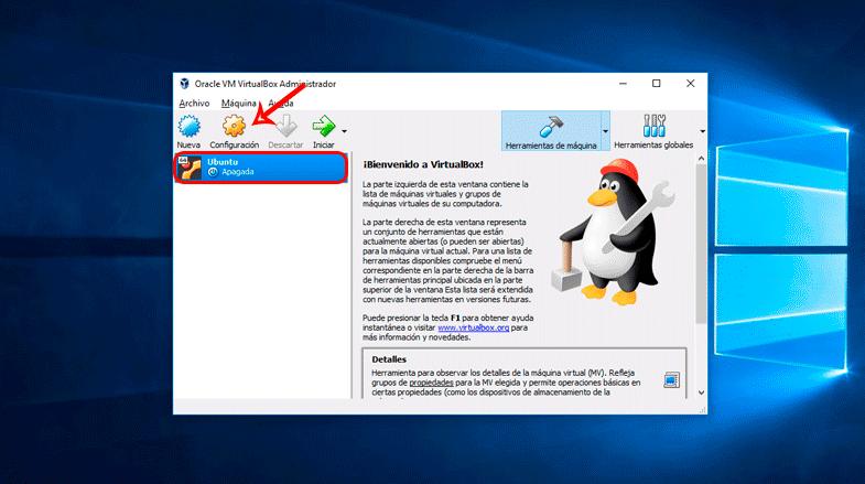 Instalar Ubuntu en VirtualBox