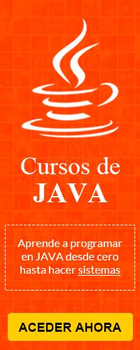 Cursos de Java desde cero